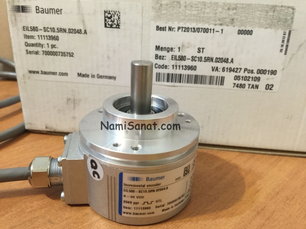 EIL580-SC10.5RN.02048.A-11113960, +انکودر بامر/انکودر شفت دار      / encoder  baumerبامرخرید انکدرانکدرeil580pانکودر EIL580PSY065FF01024	 EIL580PSY065FF انکودر بامر انکودر شفت دار encoder baumerبامرخرید انکدر انکدر eil580p انکودر EIL580PSC105RF01024 EIL580PSC105RF01024B •	EIL580PSC105RFانکودر •	انکودر دورانی •	اینکودر ابسولوت •	اینکودر خطی •	اینکودر مطلق •	اینکودر افزایشی •	اینکودر sick •	اینکودر سوکتی EIL580PTT155FF01024B11126914 hubner 11089473 hubner EEXOG9DN2048I hubner 11147754 hubner 11055538 hubner 11070325 hubner 11070726 hubner 11042559 hubner K35 hubner HOG10D1024IEIL580-SC10.5RN.02048.A-11113960