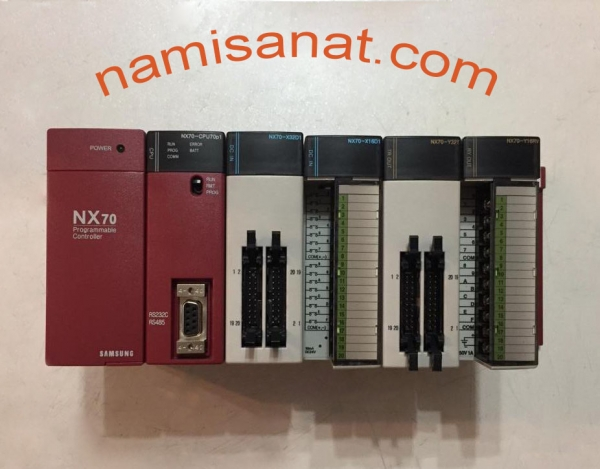 ROCKWELL AUTOMATION SAMSUNG, NX70-BASE 5SLOT UNIT  NX70_POWER2  NX70_CPU70P1  NX70_X16D1  NX70_Y16RV  NX70_X32D1  NX70_Y32T, rockwell, samsung, automation, rockwell automation, 5-slot,5slot,nx70-base0280 Points: 16-point I/O 160 Points: 32-point I/O,NX70-BASE, nx70,